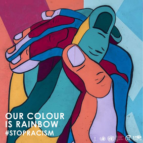 Press Release: Our Colour Is Rainbow. Stop Racism