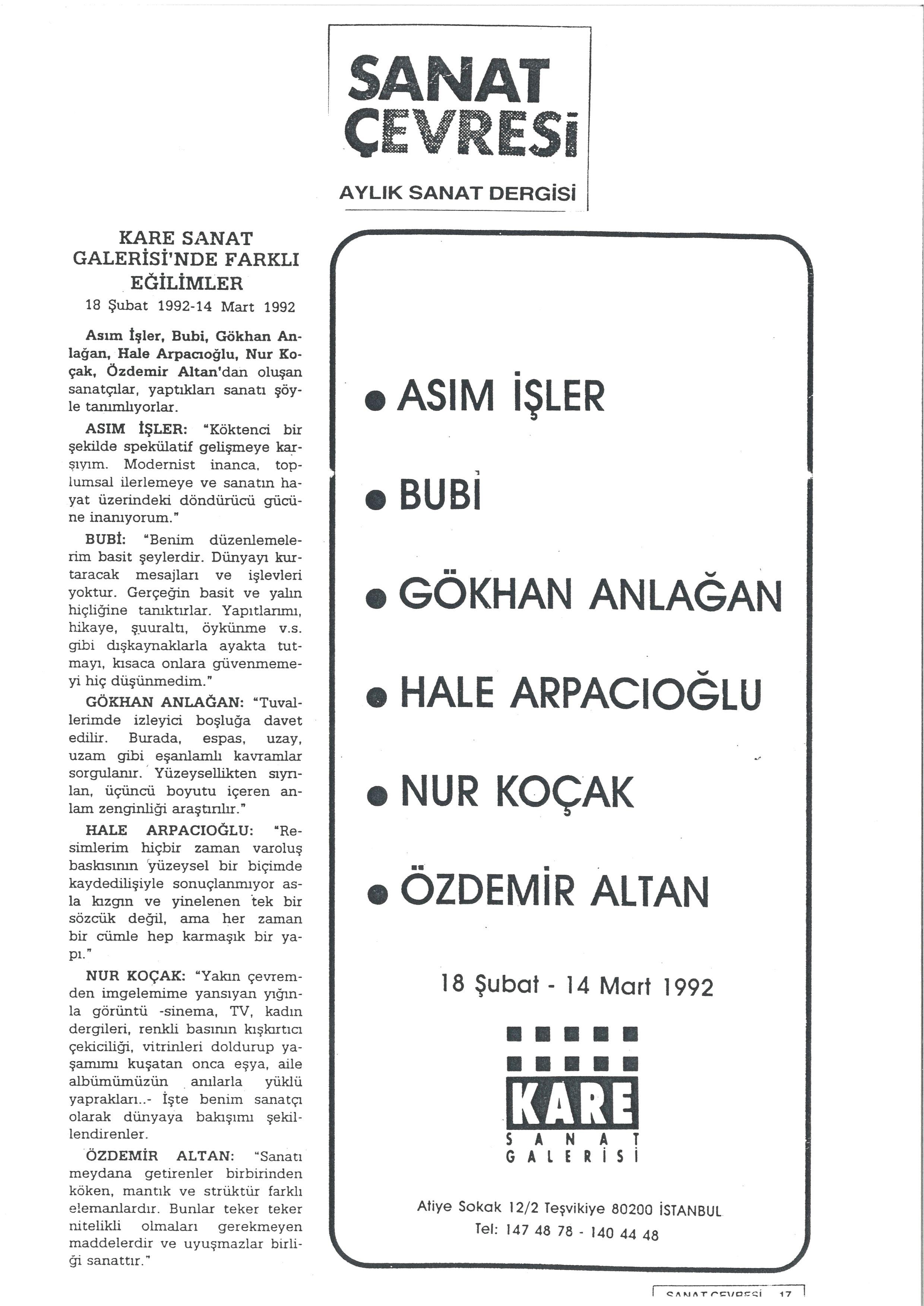 Sanat_Çevresi_1992