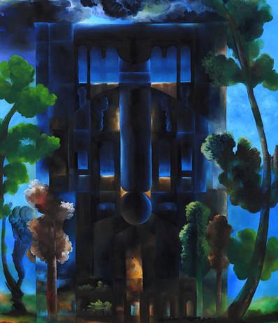 Konya İnce Minare Giriş Kapısı - Tuval Ü
