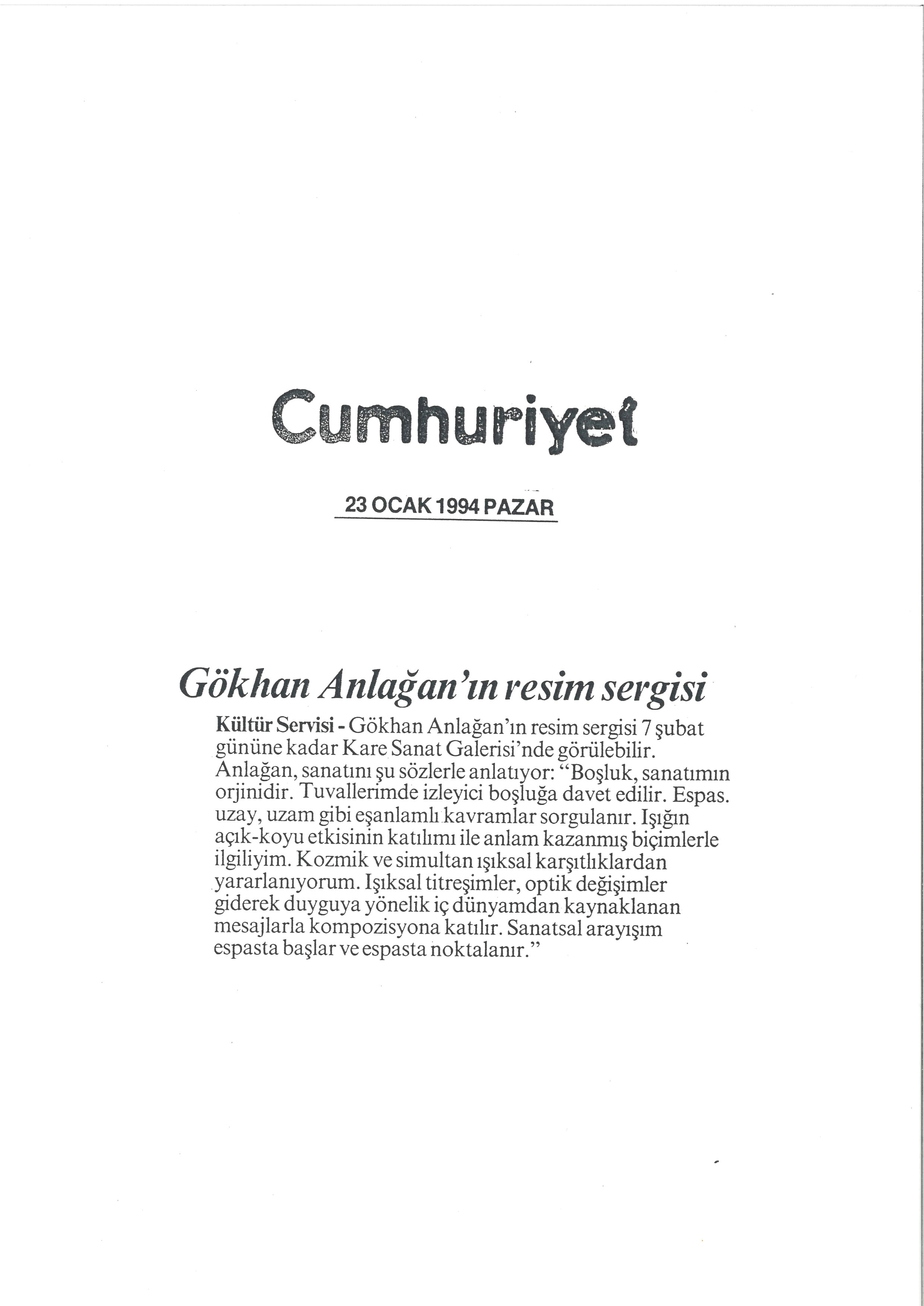 Cumhuriyet 1994