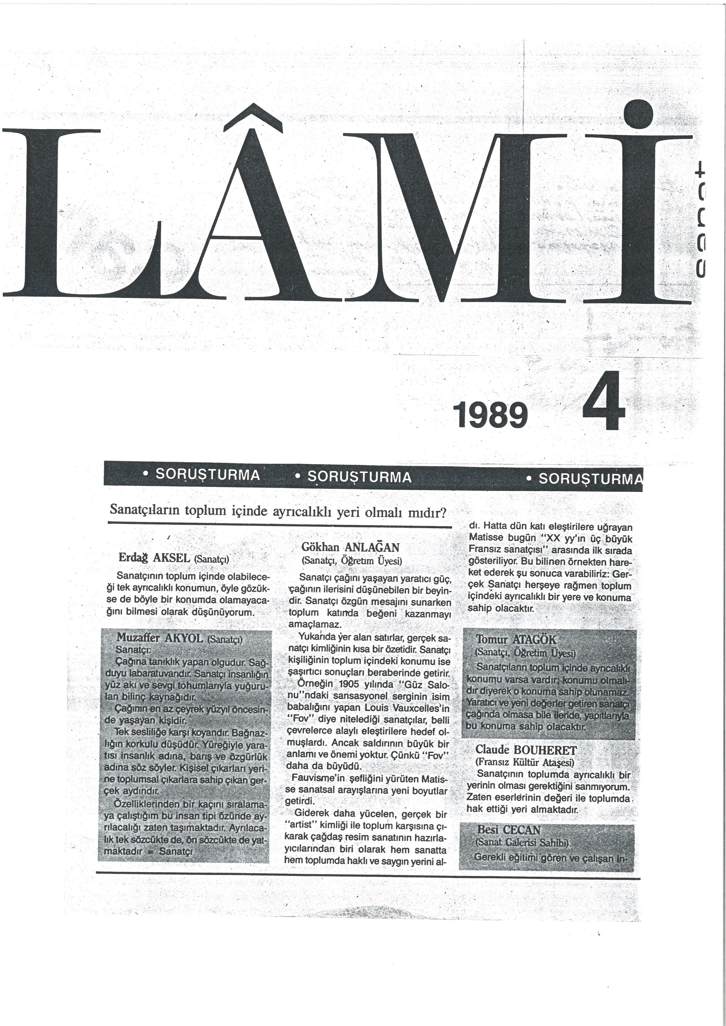 Lami 1989