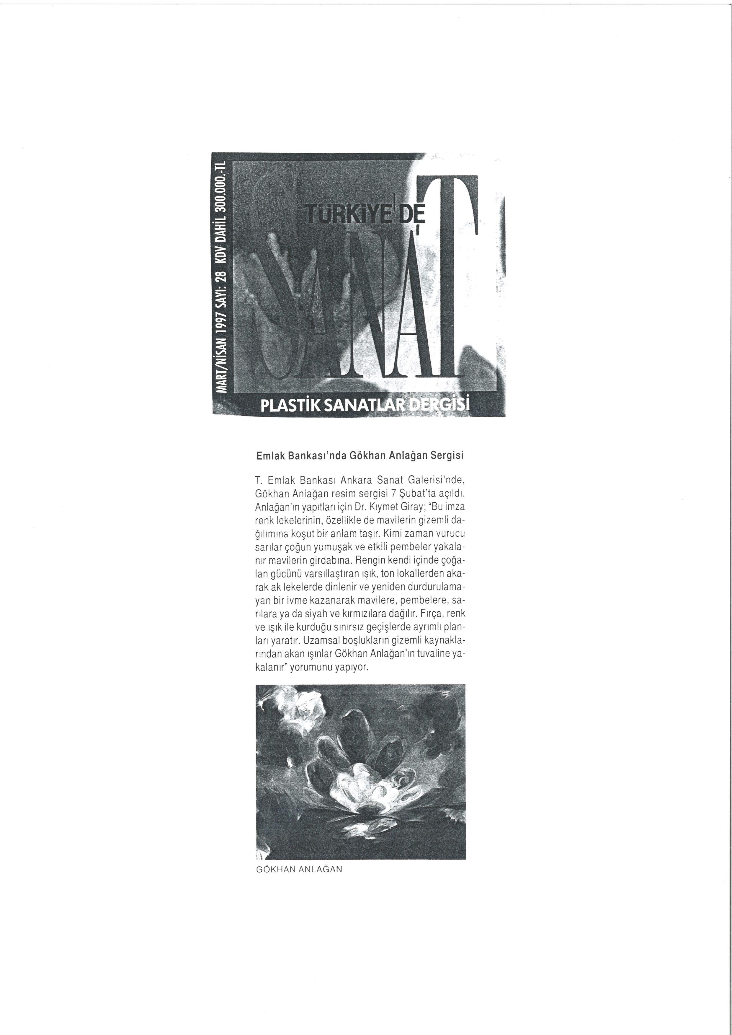 Sanat 1997