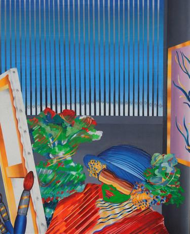 Atölye – Tuval Üzerine Yağlı Boya  - 198