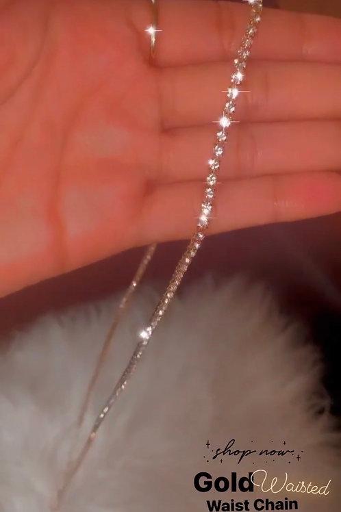 Gold Waisted Waist Chain