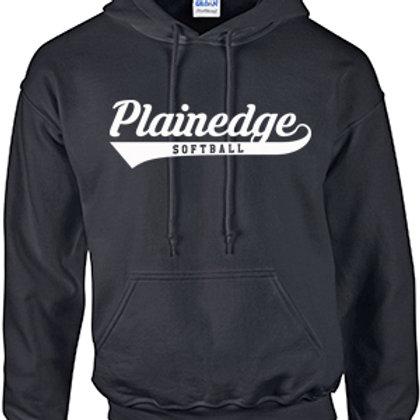 Plainedge Script Cotton Hoodie