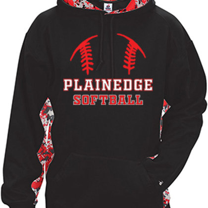 Digital Camo Hoodie - Plainedge Softball