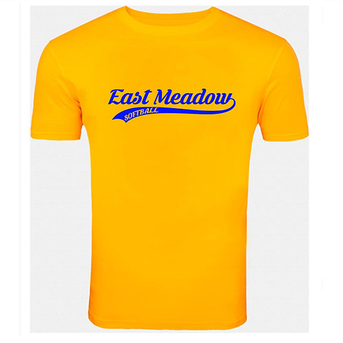 East Meadow Softball Script - TShirt