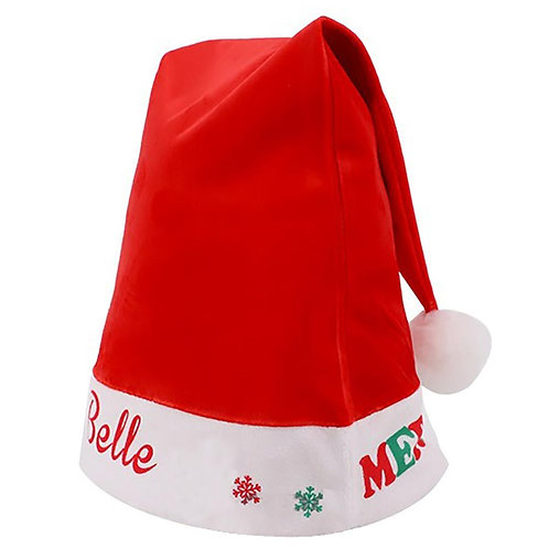 Custom Santa Hat - Kids