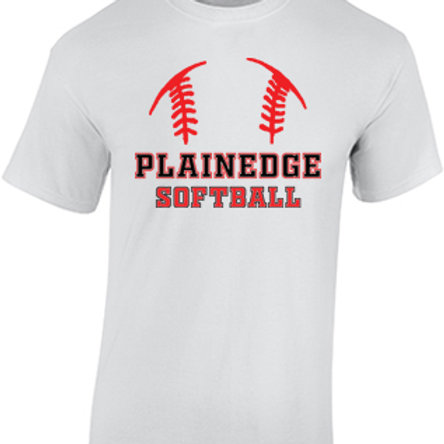 Plainedge Softball - Cotton T-Shirt