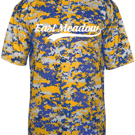 East Meadow Script - Digi Camo Dry Fit