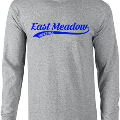 East Meadow Softball Script - Long Sleeve TShirt