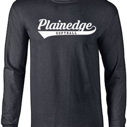 Plainedge Script Dry Fit Long Sleeve