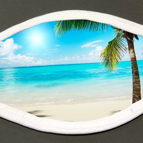 Beach - Face Cover