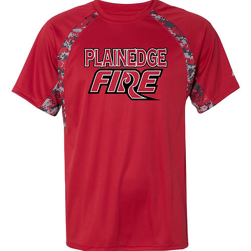 Plainedge Fire 2020 Digital Camo Dry Fit T