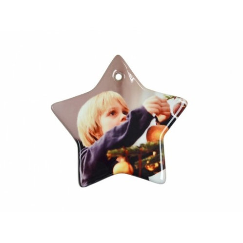 Custom Ceramic Star Ornament