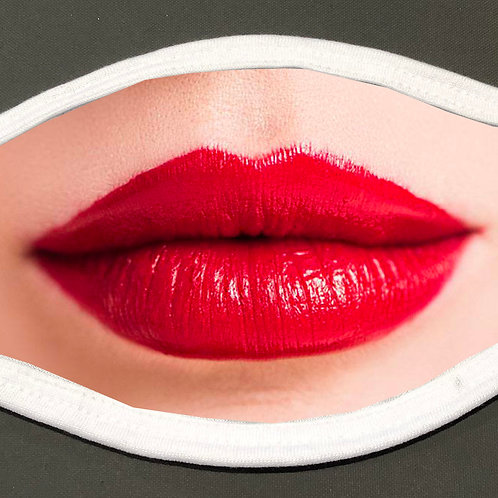 Women's Lips - Face Cover