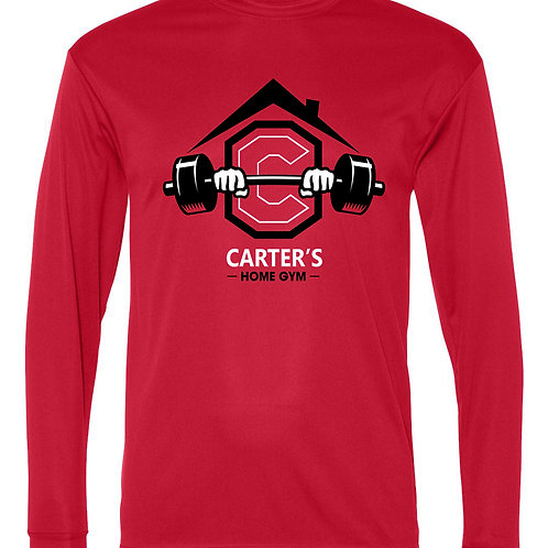 Carter's Dry Fit L/S -Large Logo