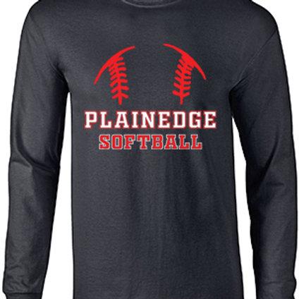 Plainedge Softball Dry Fit Long Sleeve