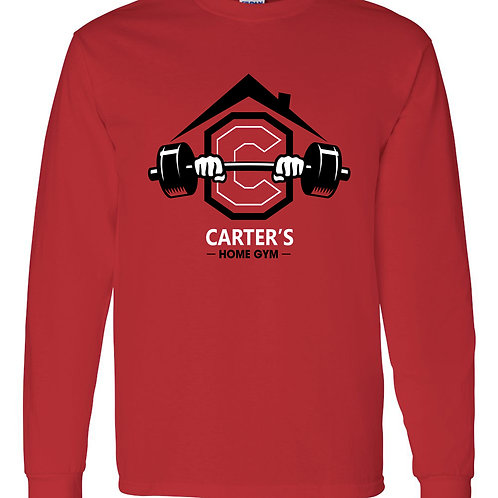 Carter's Cotton Long Sleeve - Large Logo