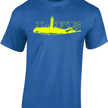 Cotton T-Shirt - Yellow Logo