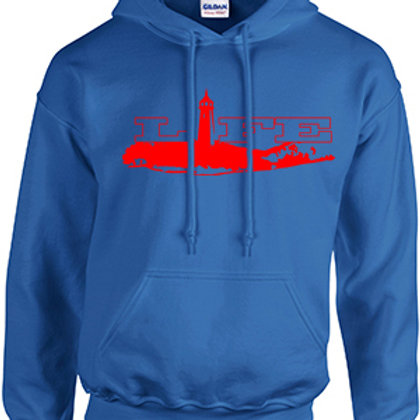 Cotton Hoodie - Red Logo