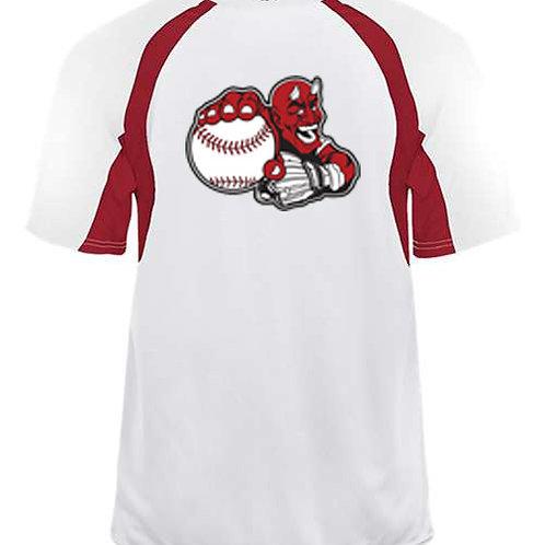 Youth B-Core Hook T-Shirt White