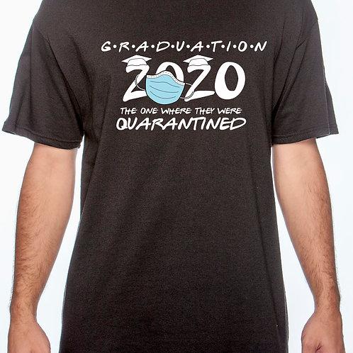 Quarantine Graduation Cotton T-Shirt