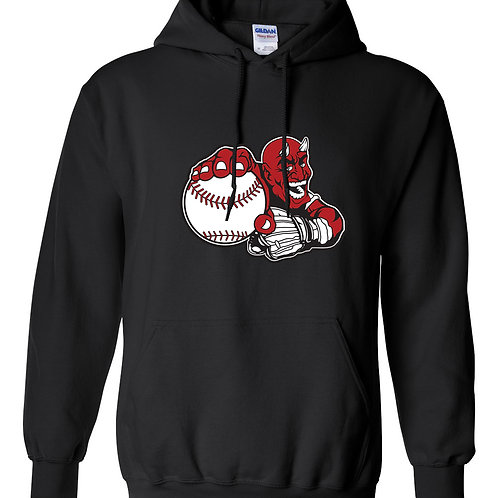 Cotton Hoodie - Large Devil