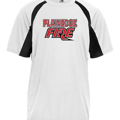 Plainedge Fire 2020 Digital Dry Fit Dugout T Wht/Blk