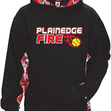 Digital Camo Hoodie - Plainedge Fire