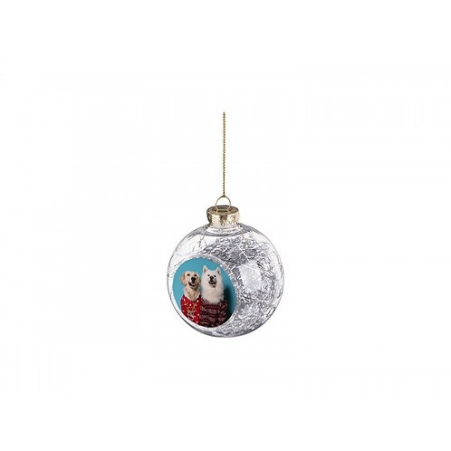 Custom Plastic Christmas Ball Ornament