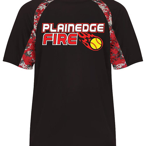 Plainedge Fire Digital Camo Dry Fit T