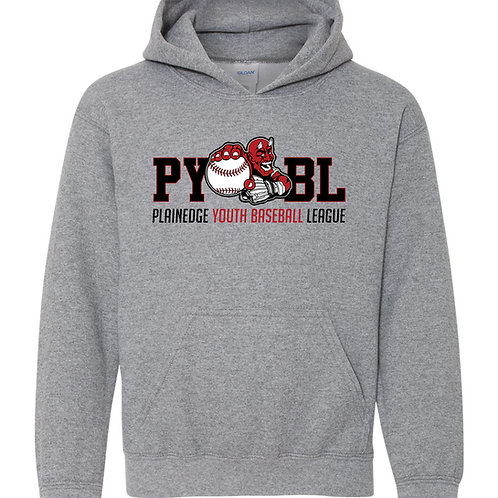 Youth Cotton Hoodie - PYBL Logo