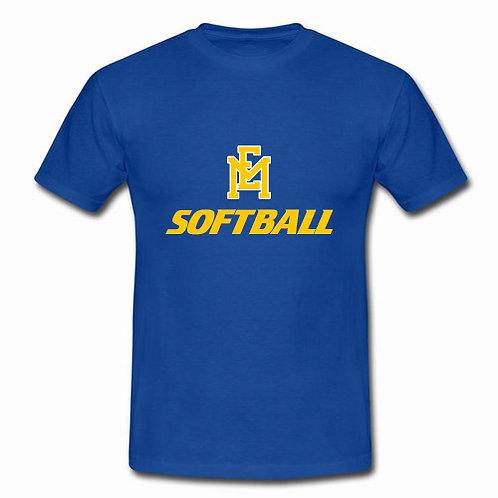 EM Softball Logo - T-Shirt
