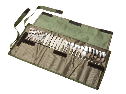 Bushtec 24-Piece Stainless Steel Cutlery Set