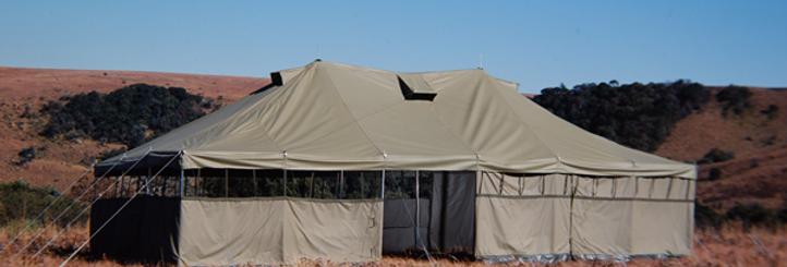 G.R. Hip Tent Marquee - 5 x 10m