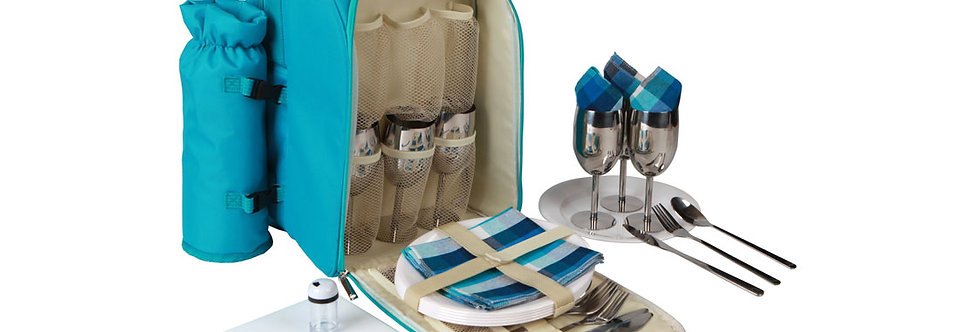 6 Person Picnic Backpack
