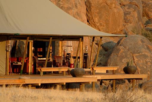 Wolwedans Boulders Camp