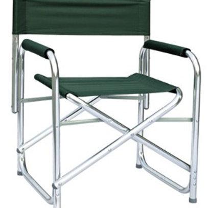 Aluminium Directors Chair Oversize (Green)
