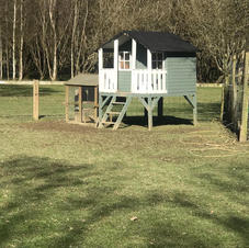 Play house in the paddock