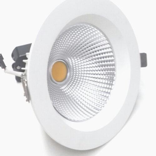 Luminária de Embutir, Branco Fosco