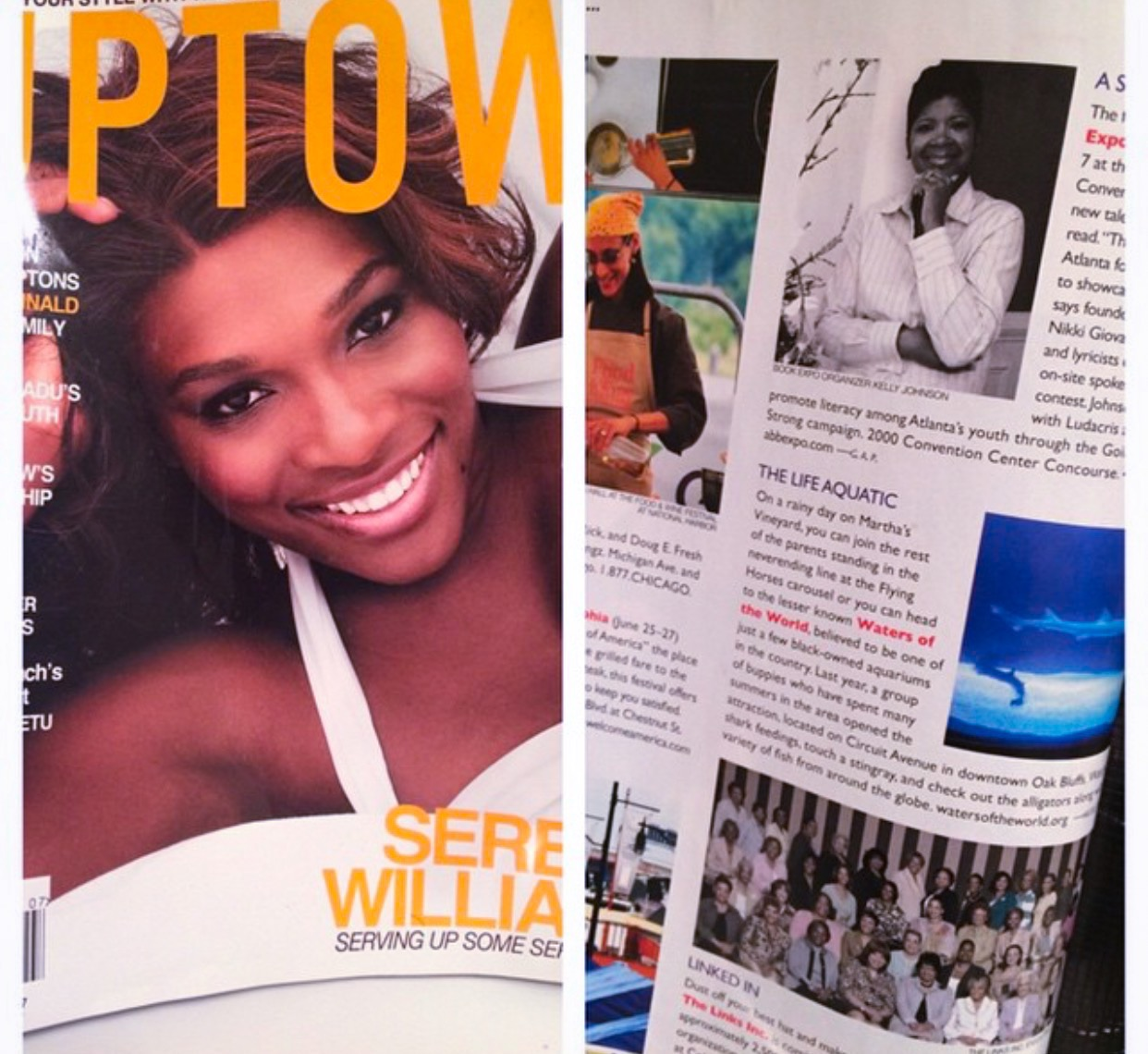 Uptown Magazine Feature