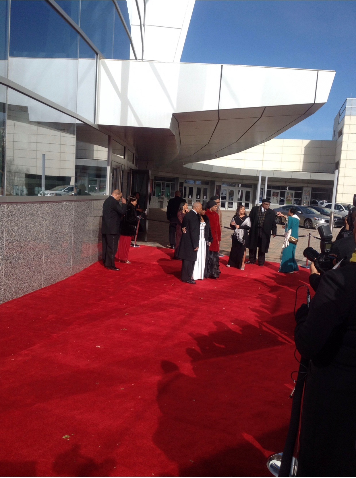 Trumpet Awards Red Carpet