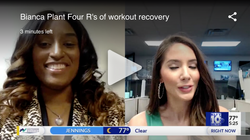 The four R's of recovery of workouts