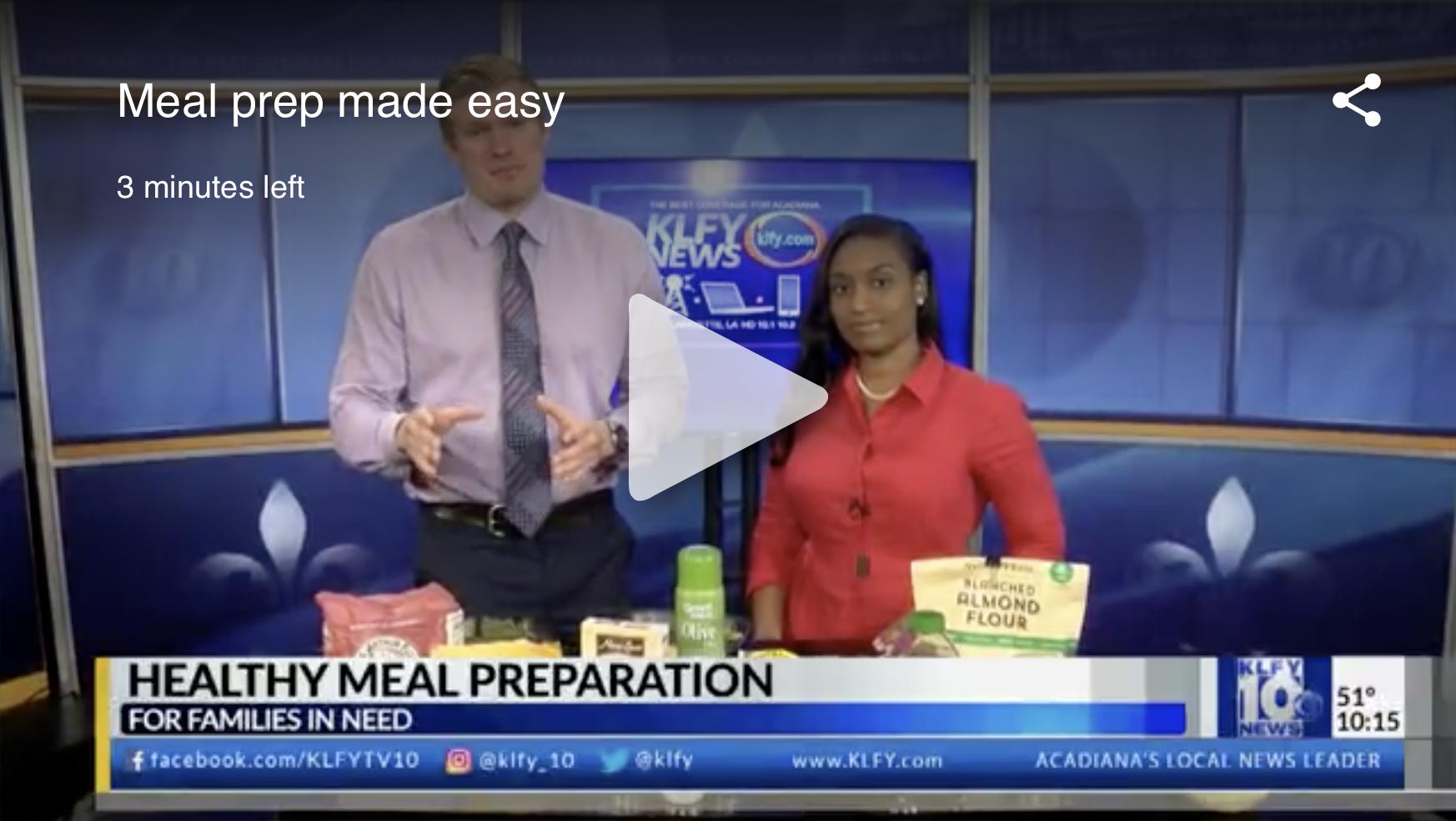 Meal Prep made easy (Nov. 2017)
