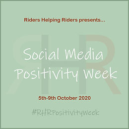 Your challenges for RHR Social Media Positivity Week