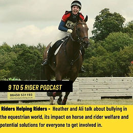 Riders Helping Riders features on the 9-5 Rider Podcast