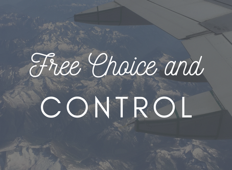 Free Choice and Control