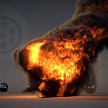 Elephant fire