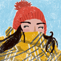 winter illustration hiver